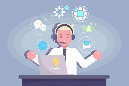 Cómo ponerse en contacto con el soporte de Binomo