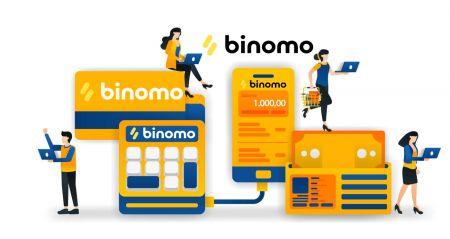 Cómo retirar y depositar fondos en Binomo